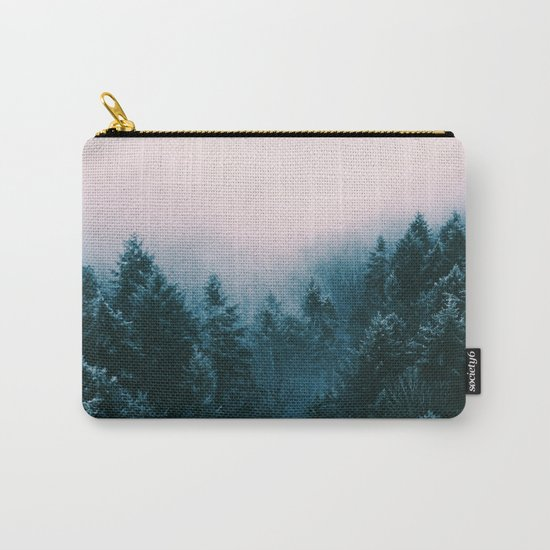 Pastel woods Carry-All Pouch