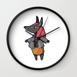 Monster Girl: Anubis Wall Clock