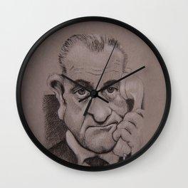 LBJ Wall Clock