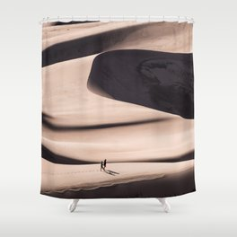 desert dune 2  Shower Curtain