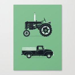 Good Machinery Canvas Print
