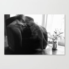 When I'm thinking about you... Canvas Print