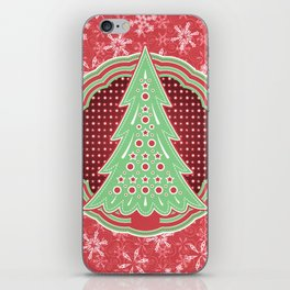 Xmastrees_03a iPhone Skin