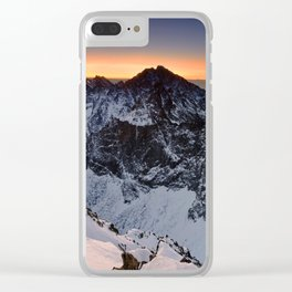 Origin of pure Nature Clear iPhone Case