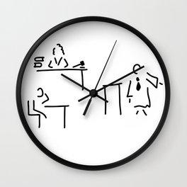 lawyer judge public prosecutor court Wall Clock