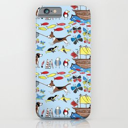 The Voyage of the Beagle iPhone Case