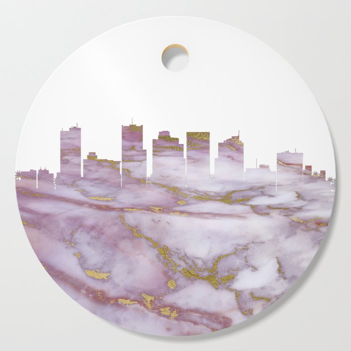 Phoenix Arizona Skyline Cutting Board