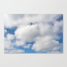 clouds of cotton Canvas Print