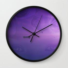 Travel Through Your Eyes Wall Clock
