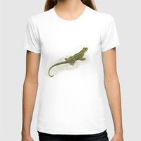 lizard T-shirts featuring Lizard by Michelle Behar