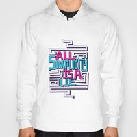 risa rodil Hoodies featuring All Simplicity is a Lie by Risa Rodil