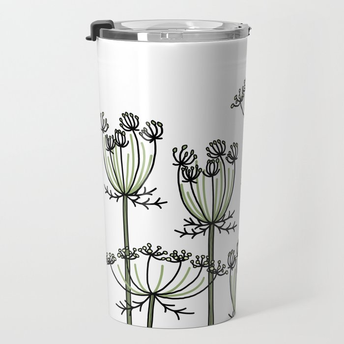 wild carrots Travel Mug