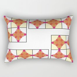 Fun times in the rectangle Rectangular Pillow
