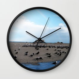 Mexican Beach Wall Clock