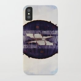 the look in your eyes from under away near breath (35mm multi exposure) iPhone Case