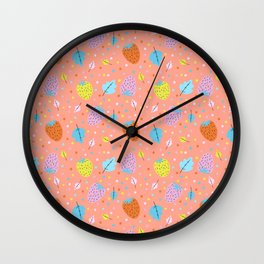 Berry Bright Wall Clock