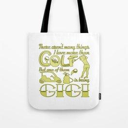 Golf Gigi Tote Bag