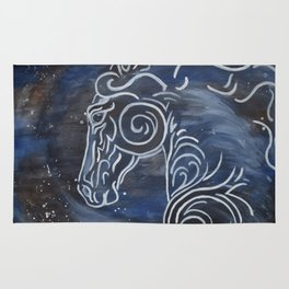 Horse and Stardust Rug