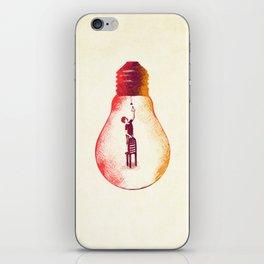 Idea Begins iPhone Skin