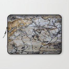 Natural Distressed Beach Drift Wood Textures Laptop Sleeve