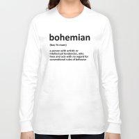 bohemian Long Sleeve T-shirts featuring bohemian by bohemianizm