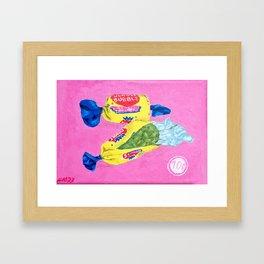 Sweet Dime Framed Art Print