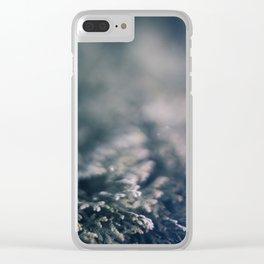 Winter Dream Clear iPhone Case