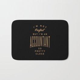 Accountant - Funny Job and Hobby Bath Mat