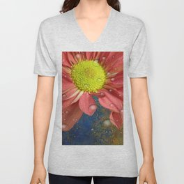 The Orange Daisey Unisex V-Neck