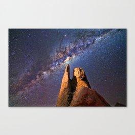 Summer Paradise Galaxy Canvas Print