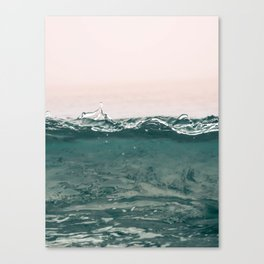pinkwave Canvas Print