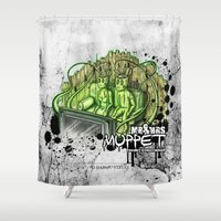 muppet Shower Curtains featuring mr. & mrs. muppet by ti-dablju-styles - Freaky Design & Art