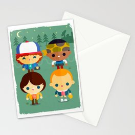 So stranger, with things Stationery Cards