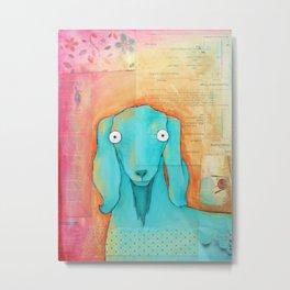 Quartet Goat Metal Print