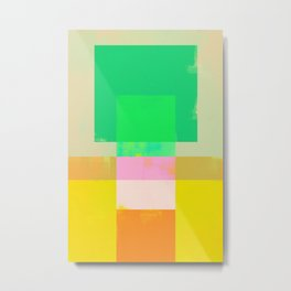 Abstract Geometry No. 9 Metal Print