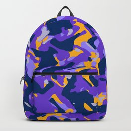 Abstract organic pattern 16 Backpack
