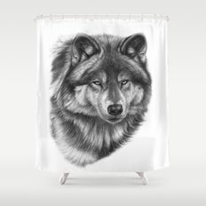 Canis Lupus SK0105 Shower Curtain