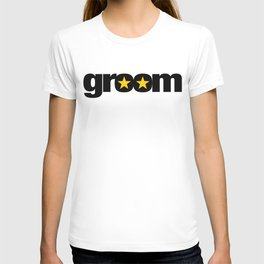 Groom Wedding Artwork - Entourage T-shirt