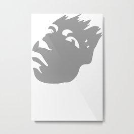 Kyo Airbrush Stencil Metal Print