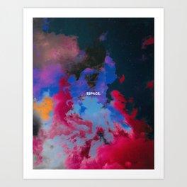 Espace Art Print