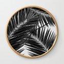 Palm Leaf Black & White III by paperpixelprints