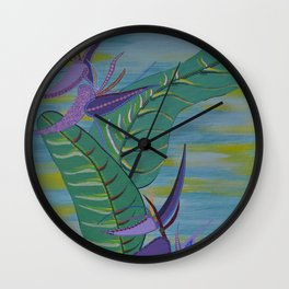 """Wild Banana"" by ICA PAVON Wall Clock"
