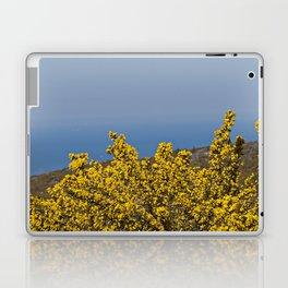 Landscape on mountain with blue sky Laptop & iPad Skin