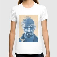 heisenberg T-shirts featuring Heisenberg by James Northcote