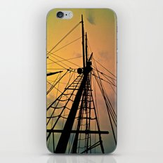 We Sail at Dawn iPhone & iPod Skin
