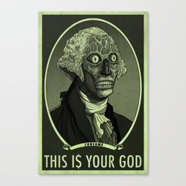 THIS IS YOUR GOD Canvas Print