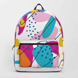 Summer abstraction 3 Backpack