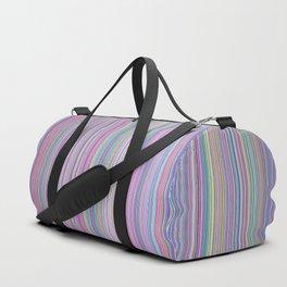Broken TV Screen Test Pattern Duffle Bag