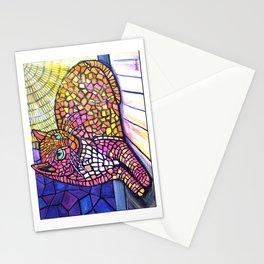 Sunspot cat Stationery Cards