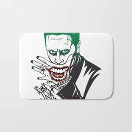 Joker_Jared Leto_Suicide Squad Bath Mat